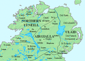 Earldom of Ulster - 11th century major and minor kingdoms in Ulster prior to the arrival of the Normans in Ireland.