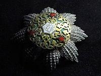 Umayya National Medal (Syria) - Memorial JK - Brasilia - DSC00456.JPG