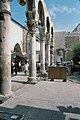 Umayyad Mosque, Damascus (دمشق), Syria - Detail of west Byzantine walkway from southwest - PHBZ024 2016 0049 - Dumbarton Oaks.jpg