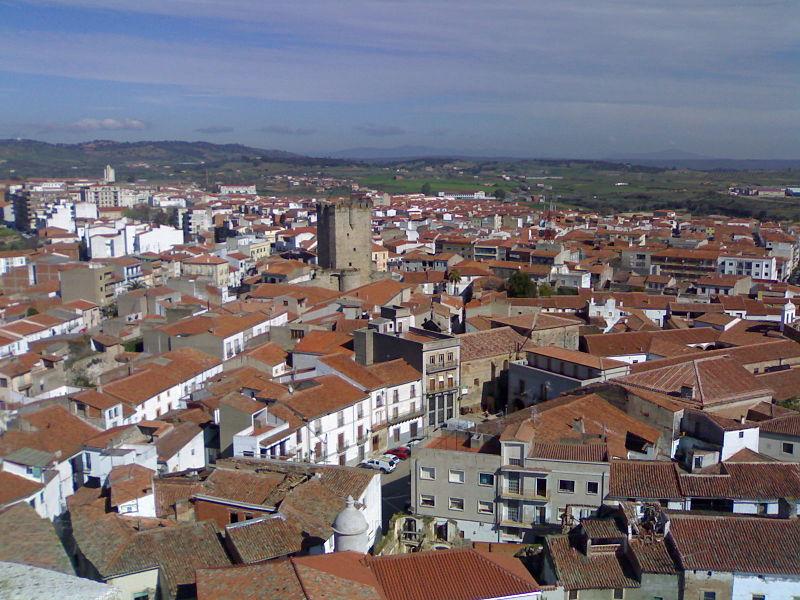 Vista de Coria