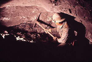 Uranium mining in Colorado - Underground uranium mining in Nucla, Montrose County, Colorado