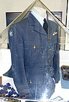 Uniform, RAF Squadron 121 (American Eagle Squadron), World War II, owned by Benjamin A. Taylor, view 1 - Oregon Air and Space Museum - Eugene, Oregon - DSC09889.jpg