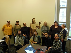 Unsung Heroes of the Bureau of American Ethnology Wikipedia Edit-a-thon 9.jpg