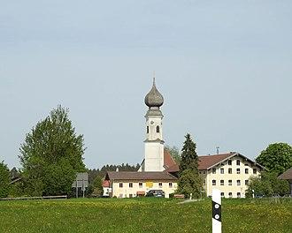 Unterreit - Unterreit seen from the west