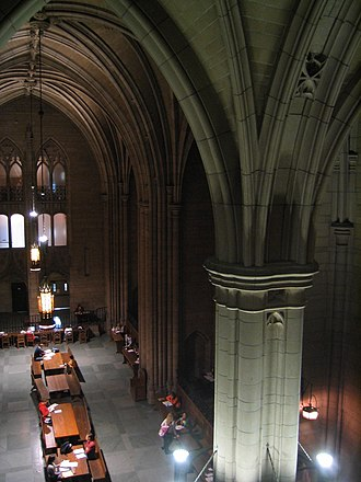 Dietrich School of Arts and Sciences - Commons Room in the Cathedral of Learning
