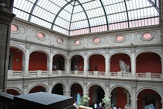 Academy of San Carlos - Upper floor of the building