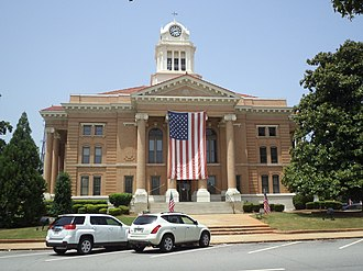 Upson County Courthouse - Image: Upson County Courthouse (South face)