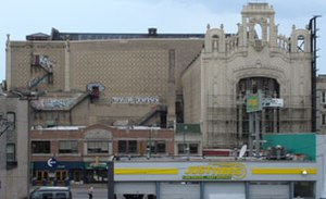 Movie palace - The Uptown Theatre in Chicago.
