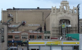 Uptown, Chicago - Uptown Theatre, 4816 N. Broadway in Chicago, Illinois