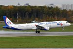 Ural Airlines, VQ-BKH, Airbus A321-211 (17277242239) (2).jpg