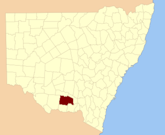 Urana County - Location in New South Wales