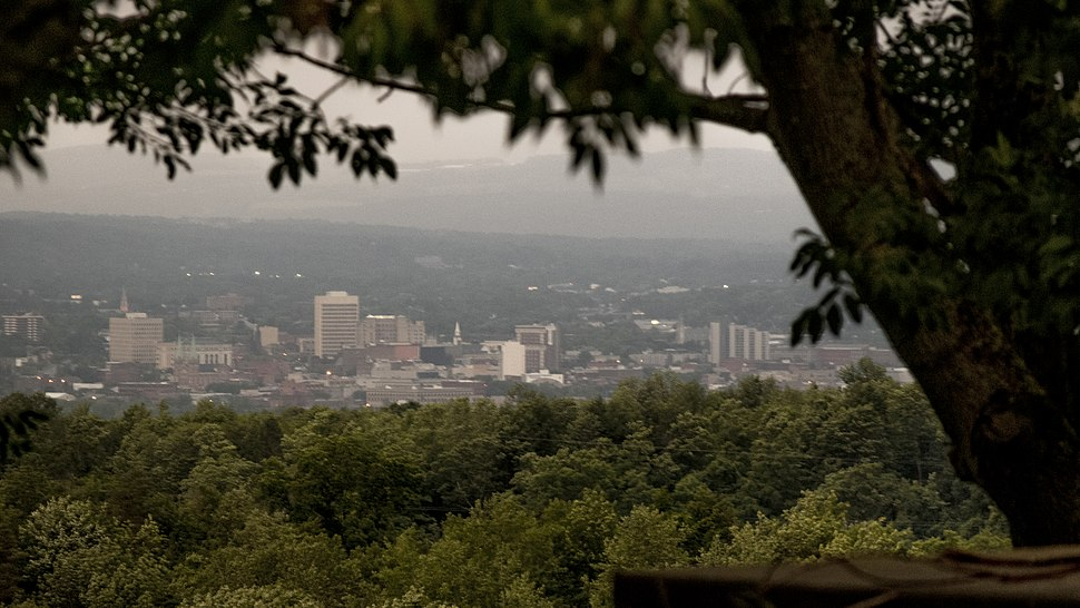 Utica NY View From Mountain
