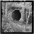 VIEW OF THE FAN ENTRY TO THE JONES MINE, LOOKING SOUTHEAST - Jones Mine, Scofield, Carbon County, UT HAER UTAH,4-SCOF,1-4.tif
