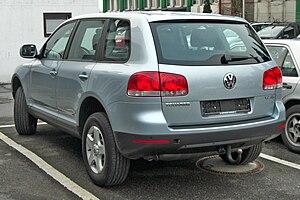 Volkswagen Touareg - Pre-facelift Volkswagen Touareg (Europe)