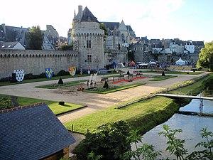 Siege of Vannes (1342) - Second enclosure of the eastern walls of Vannes