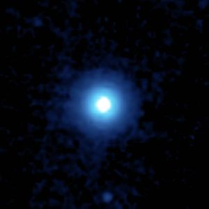 Vega - A mid-infrared (24 μm) image of the debris disk around Vega