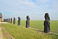 Velykų salos statulos Lietuvoje, Marijampolėje.jpg
