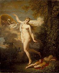 Aphrodite et Apollon endormi