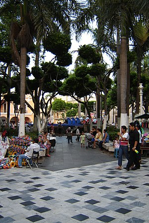 Veracruz (city) - The plaza in the center of the city of Veracruz