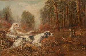Verner Moore White - Image: Verner White Dogs