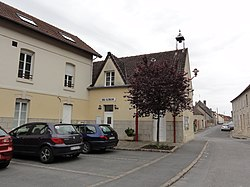 Veslud (Aisne) mairie.JPG