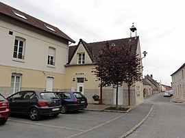 The town hall of Veslud