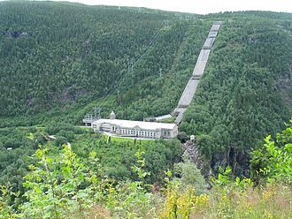 Norsk Hydro Rjukan - Vemork power station