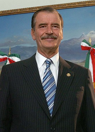 Mexicans of European descent - Vicente Fox Quesada, President of Mexico (2000-2006)