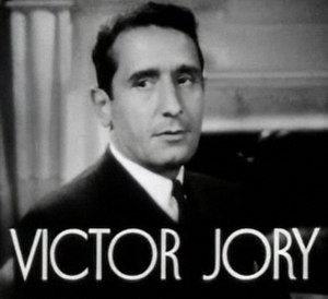 Victor Jory - Jory in First Lady (1937)