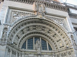 Alfred Drury - Entrance, Victoria and Albert Museum, London