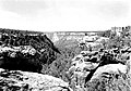 View down Spruce Tree Canyon into Navajo Canyon, showing residence of Superintendent Jesse L. Nusbaum, Mesa Verde National Park. (3ed2ac42a27841ae8e89b015b46f6be1).jpg