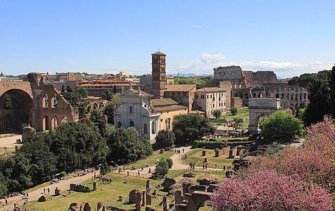 Forum Romanum from Palatine