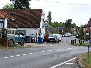 Westleton - Image: View of Westleton village, suffolk geograph.org.uk 432510