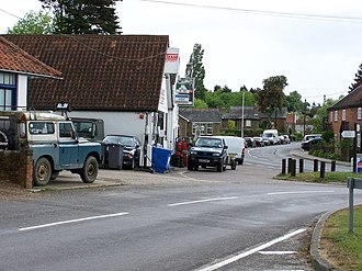 Westleton - Image: View of Westleton village, suffolk geograph.org.uk 432510