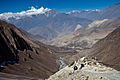 View of the Jhong Khola valley to the Kali Gandaki (4523383806).jpg