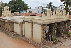 View of Vijayanarayana temple (10th century A.D.)