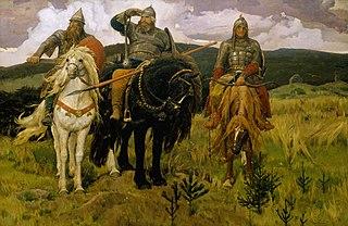 Bogatyr Russian legendary knights
