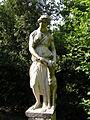 Villa reale di marlia, fontana a spruzzo, statua 02.JPG