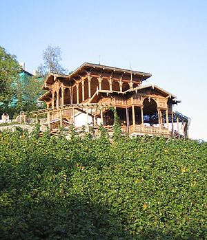 Vinohrady - Vineyard summerhouse in Havlíčkovy sady