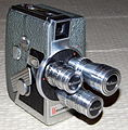 Vintage Wollensak 8mm Movie Camera, Model 53 (12103066903).jpg