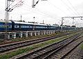 Visakha Express at Yard in Secunderabad.jpg