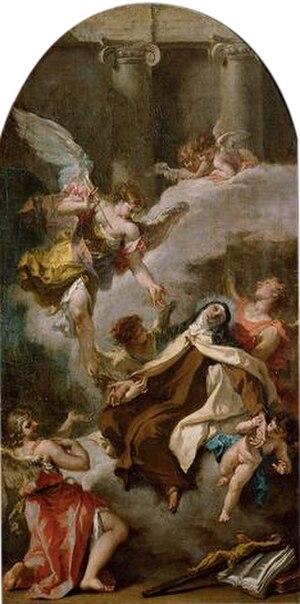 San Marco in San Girolamo - Sebastiano Ricci, The Ecstasy of Saint Teresa (1724)