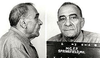 Frank Costello - Vito Genovese's mugshot