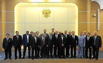 Crimean Tatars - Russian President Vladimir Putin meeting with representatives of the Crimean Tatars, 16 May 2014