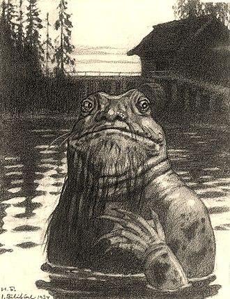 Vodyanoy - Vodyanoy by Ivan Bilibin, 1934