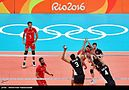 Volleyball, match between Iran and Egypt at the Olympic Games in 2016 09.jpg