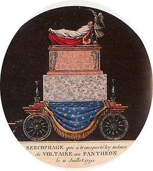 Catafalque - Voltaire's catafalque