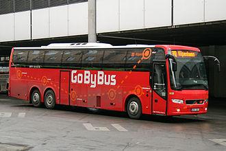 Nettbuss express - GoByBus route 300 to Copenhagen in Oslo in 2011.