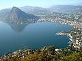 Vue de Lugano et du lac depuis le Monte Brè 02.JPG