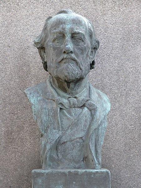 File:Vyšehradský hřbitov - Ferdinand Laub (houslista).jpg